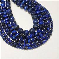 Tigereye Blue 6mm