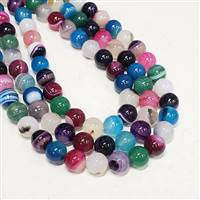 Agate Mix 8mm