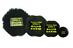 SPHD 3 Tyre patch 100mm diameter 2 ply
