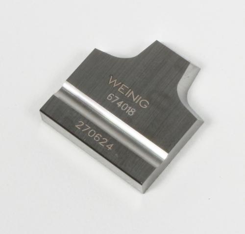 Combihead carbide insert radius