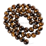 Natural Tiger Eye Gemstone Beads