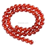 Natural Carnelian Gemstone Beads