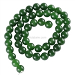 Natural Green Jasper Gemstone Beads