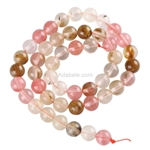 Watermelon Tourmaline Gemstone Beads