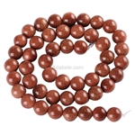Natural Gold Sand Gemstone Beads