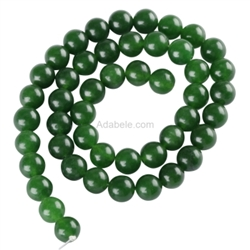Natural Green Agate Gemstone Beads