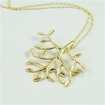 Gold Tree Necklace