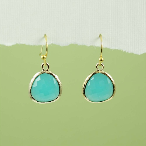 com collections products stone dailynecklace green earrings