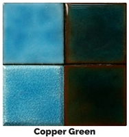 Copper Green Enamel (2oz)