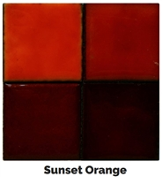 Sunset Red/Orange Enamel (2oz)