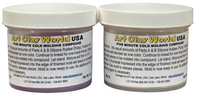 Two-Part Silicone Molding Compound (2 x 5oz jars)