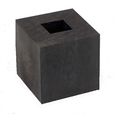 Small Rubber Block with Center Hole