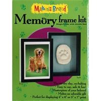 Makin's Memory Frame Kit - Pet Single Frame with Double Face