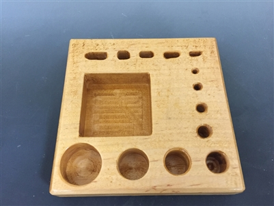 Wooden Stand for Various Disc Cutters 6x6""