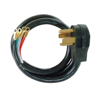 220v/30amp Dryer Cord 1006  6 Feet Long  4 Prong UL approved