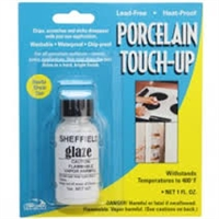 1125 WHITE GLAZE TOUCH-UP 1OZ BOTTLE