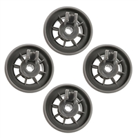 165314  4 pack Wheels for Bosch Dishwasher