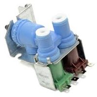 61005626, WP61005626 Icemaker Dual Solenoid Water Valve for Whirlpool