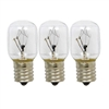 Edgewater Parts 8206232A (3 Pack) Light Bulb Compatible with Whirlpool Microwave