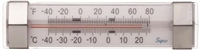 Supco ST06 Stainless Steel Refrigerator/Freezer Thermometer, -40 to 80 Degrees F