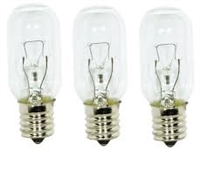 WB02X4253 Light bulbs  (3 pk.) for General Electric microwave oven