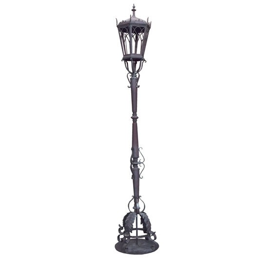 Argentine Wrought Iron Torchiere