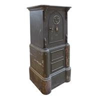 Spanish Iron, Brass, and Wood Safe