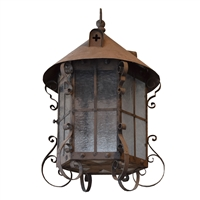 Wrought Iron Lantern by José Thenee