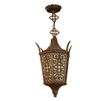 Early 20th Century Argentine Bronze Pendant Light