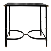 Adnet Leather Top Table
