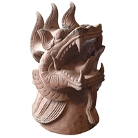 19th Century Japanese Dragon Finial