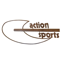 "French Wrought Iron ""Action Sports"" Sign"