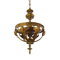 Early 20th Century American Bronze Light Fixture from a Theater Retail