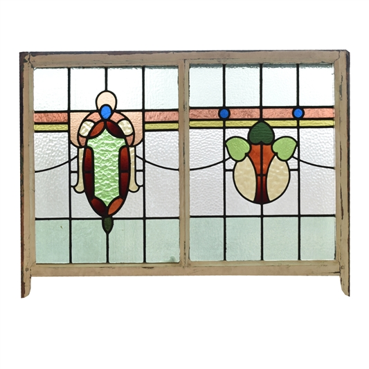Early 20th century American Stained Glass Window