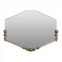 Early 20th Century French Fer Forge Mirror