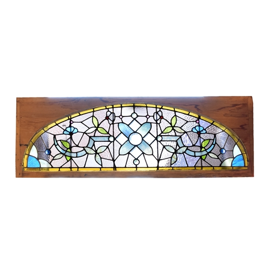 19th Century American Stained Glass Window