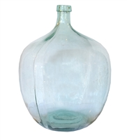Green Glass Wine Vessel
