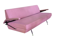 Italian Sofa/Bed in the Style of Osvaldo Borsani