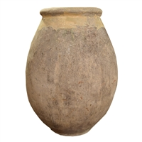 French Terra Cotta Biot Jar