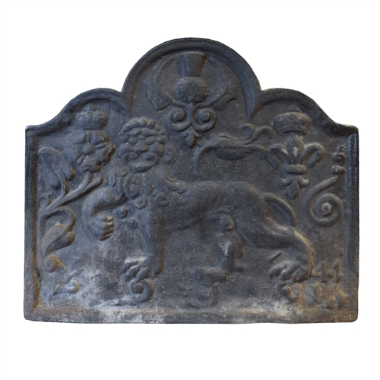Copy of a Tudor Style Cast Iron Fireback