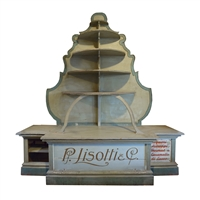 Italian Six Tier Display Shelf for Lisotti Distilling