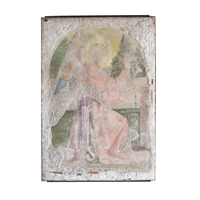 Italian Fresco with Angel