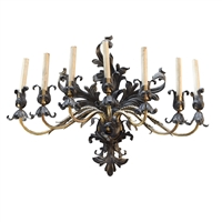 American Seven Arm Wall Sconce