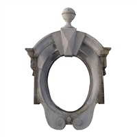 French Zinc Dormer Window Surround