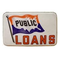 Public Loans Light-Up Sign