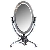 French Fer Forge Vanity Mirror