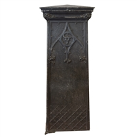 American Cast Aluminum Newel Post