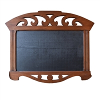 German Wood and Slate Chalkboard