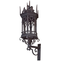 Argentine Wrought Iron Sconce