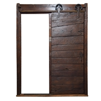 Italian Sliding Wood Door